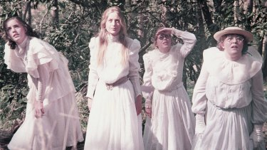 A scene from Picnic at Hanging Rock.
