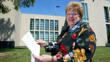 Former Namadgi MP Annette Ellis.
