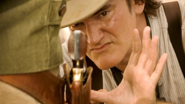 Quentin Tarantino gets up close and personal on <i>Django Unchained</i>.