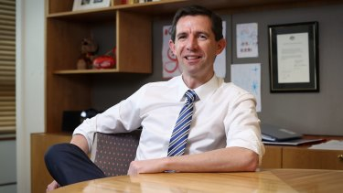 Education Minister Simon Birmingham had backed the program but has now ordered an independent review.