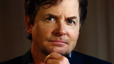 Backing research: Actor Michael J. Fox was diagnosed with Parkinson's disease in 1991.