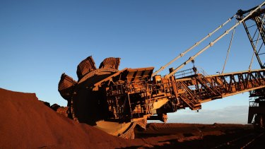 Fortescue has benefited from rising iron ore demand from China.