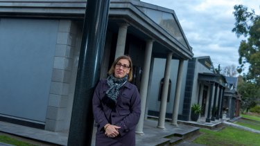 Greater Metropolitan Cemeteries Trust chief Jacqui Briggs-Weatherill says cremations account for 57 per cent of services at the trust's cemeteries.