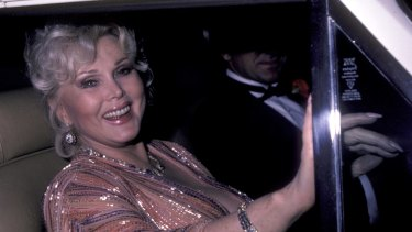 Zsa Zsa Gabor attends An Evening In Monaco Gala on October 14, 1983 at the Beverly Wilshire Hotel in Beverly Hills, California.