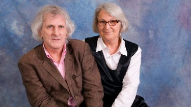 Robert Adamson and Juno Gemes in a photograph taken by Gemes when she was a photographer in residence at the Sydney Writers Festival in 2009.