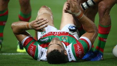 Season in doubt: Greg Inglis has ruptured his ACL.