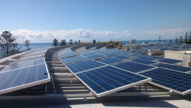 The sky's the limit for rooftop solar energy.