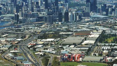 Fishermans Bend was rezoned in 2012.