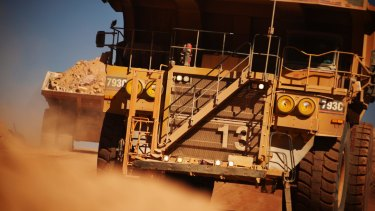 BHP hit a five-month high, closing up 2.3 per cent at $25.85.