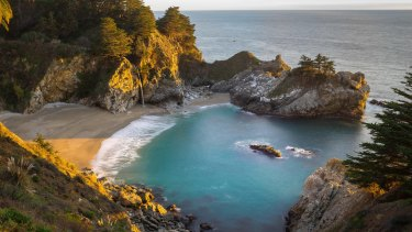 McWay Falls in Big Sur, California.