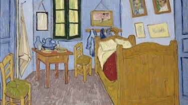 Vincent Van Gogh's 1888 painting Bedroom in Arles epitomises the spartan artist's garret.