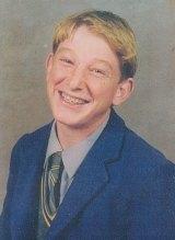 Mr Monagle at age 16.