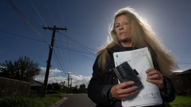 Vicki Campbell is on the pension, but was upsold a $90-a-month phone plan including a tablet she did not know how to use.