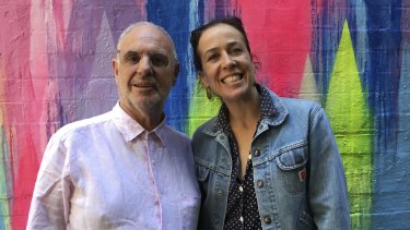 Philip Nitschke sat for artist Mirra Whale after his gig at the Melbourne International Comedy Festival.