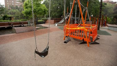 Police believe the playground fire was deliberately lit.