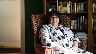Author Pamela Freeman says her husband is a hero for enabling her creative career.