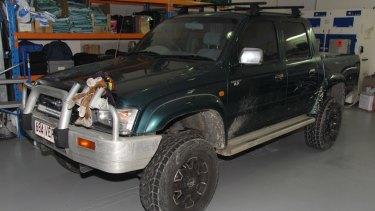Police are appealing for anyone who may have seen this ute near Bega Road, Eurora Street or Mudgee Street on the evening of January 24 to come forward.