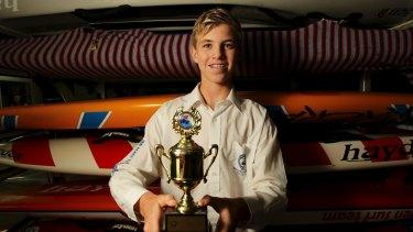 Lifesaver Matthew Barclay.