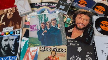 The many looks of the Bee Gees are evident in the vast memorabilia aquired by the State Library of Queensland.