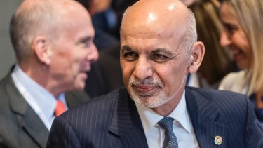 President Ashraf Ghani's government now controls barely half Afghanistan by area.