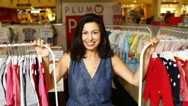 Eugenie Pepper, who runs baby wear brand Plum, says women thinking of starting their own business should go for it.