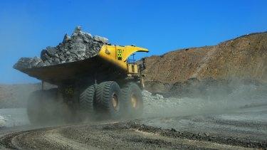 Mine at Moranbah.