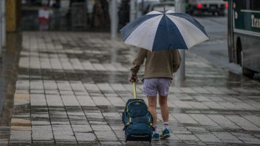 Perth is set for a drenching on Monday.