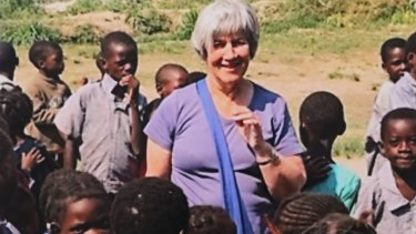 Sandra Hocking contracted a superbug after she fell in a hole in Zambia and cut her ankle.