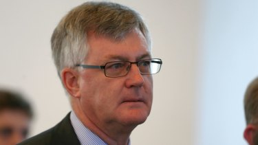 Australia's top public servant, Dr Martin Parkinson, delivered a speech at the National Portrait Gallery on Tuesday.