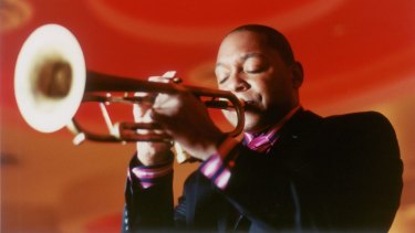 Wynton Marsalis playing with the Sydney Symphony Orchestra.