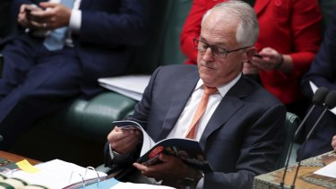 Malcolm Turnbull today.