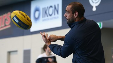 Chris Yarran wants to be traded to Richmond.