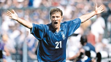 No repeat: The Socceroos do not want to miss out on another Christian Vieri playing for another national team.