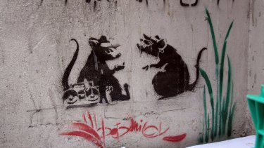 Yeah, nice one. Banksy rats in Flinders Lane were inadvertently removed by a council worker in 2010.