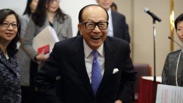 Billionaire Li Ka-shing is on a roll in Australia.