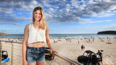 The dark side of beauty: Eugenie Bouchard has faced death threats and criticism for her public profile away from the tennis court.