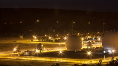 Pine Gap: the satellite ground station in the Northern Territory is a symbol of the level of co-operation between Australia and the United States.
