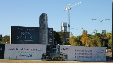 Civic Heart, the centrepiece of the new South Perth, was just one of the buildings approved with a height 'bonus'.
