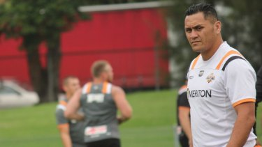 Kiwi calling: Wests Tigers assistant coach David Kidwell.
