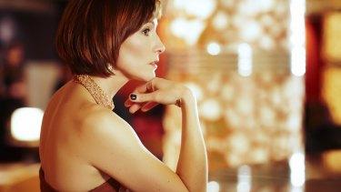 Claudia Karvan as Caroline Tivoli in the ABC's <i>The Time of Our Lives</i>.