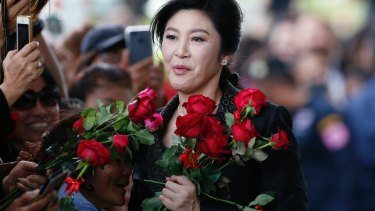 Judges hearing the charges against Ms Yingluck have delayed delivering their verdict until September 27.