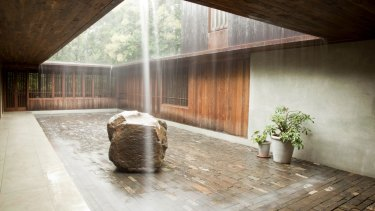 Bijoy Jain's Copper House 2, with its courtyard exposed to the elements.