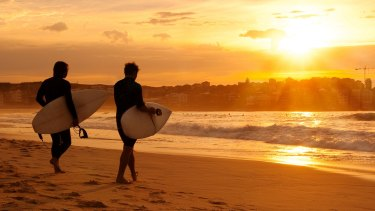 Blissful Bondi: Sydney has some of the world's best beaches, yet Sydneysiders can't wait to leave.