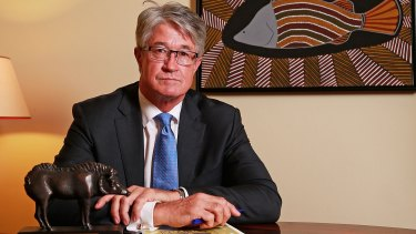 Departing Rio director Mike Fitzpatrick says the approach from BHP forced soul-searching at Rio Tinto.
