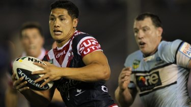 Attacking from the back: Roger Tuivasa-Sheck.