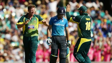 James Faulkner (left) is not one to back down from a confrontation.