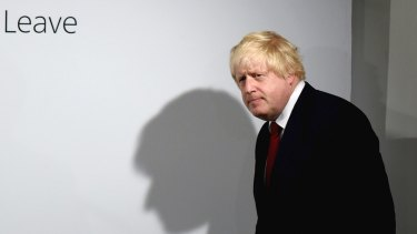 Boris Johnson, former mayor of London, is among the frontrunners to become prime minister.