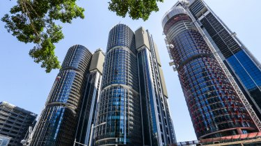 Lendlease lifted earnings for the development division by 10 per cent, in part because of the completion of the last of the three Barangaroo office towers in Sydney.