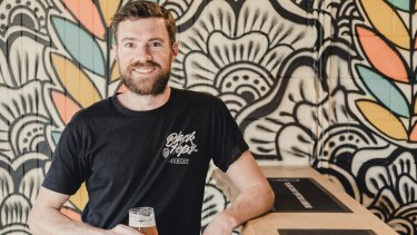 Dan Norris is the co-founder of Black Hops Brewing.