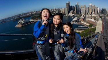 Sydney's BridgeClimb will offer special Mandarin-language climbs featuring karaoke at the top for the Chinese New Year in February.
